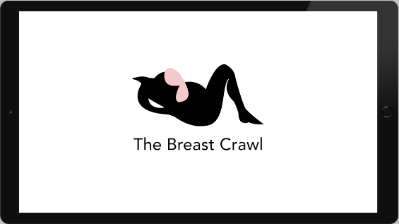 breast crawl video