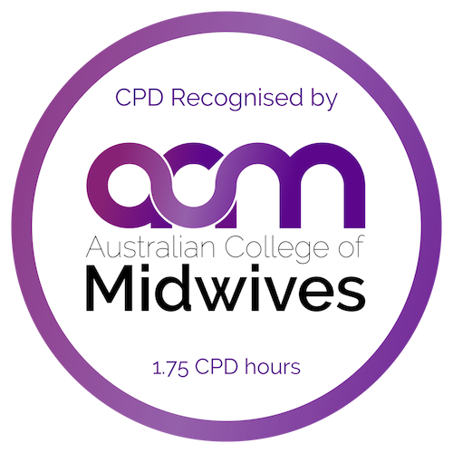 Australian College of Midwives CPD Recognised